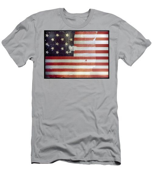 The Star Spangled Banner Men's T-Shirt (Athletic Fit)