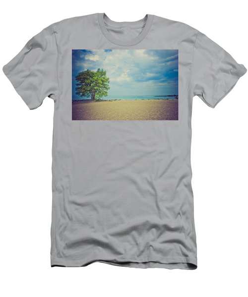 Tranquility Men's T-Shirt (Slim Fit) by Sara Frank