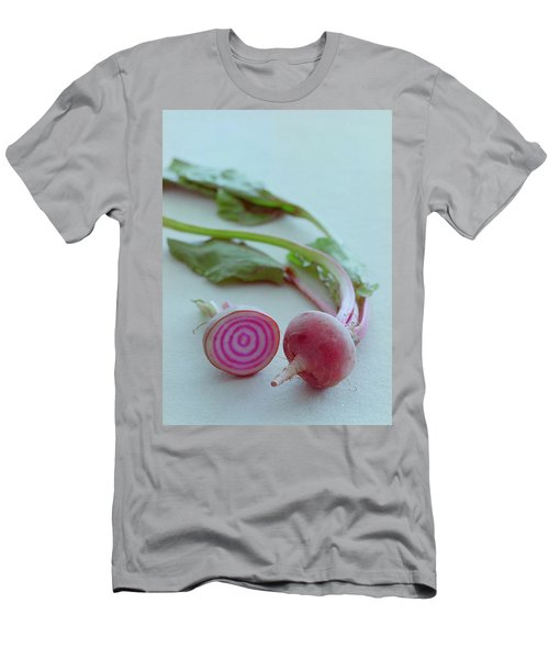 Two Chioggia Beets Men's T-Shirt (Athletic Fit)