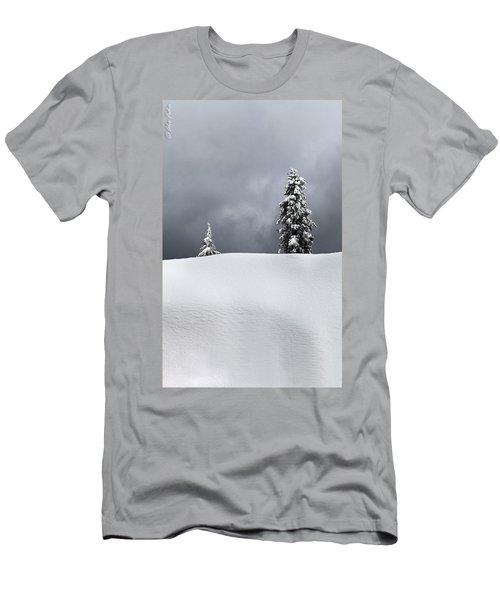 Winter Trees Men's T-Shirt (Athletic Fit)