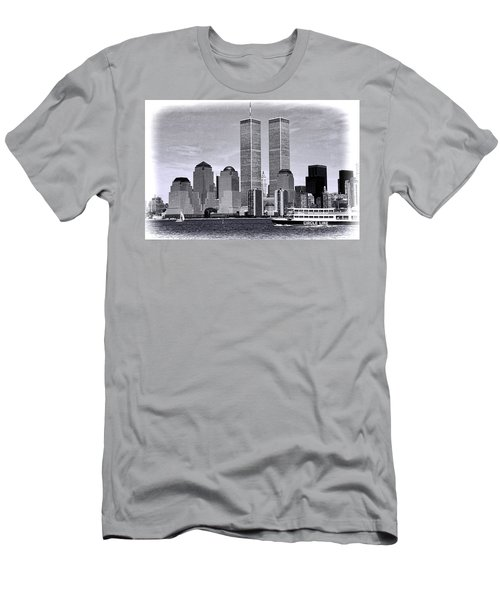 World Trade Center 3 Men's T-Shirt (Athletic Fit)