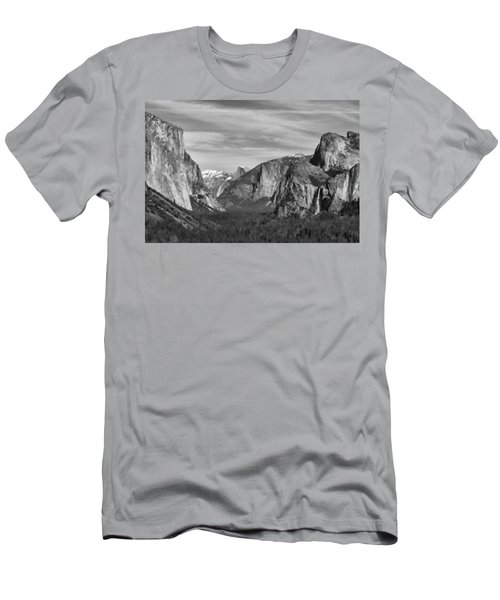 Yosemite Men's T-Shirt (Slim Fit) by David Gleeson