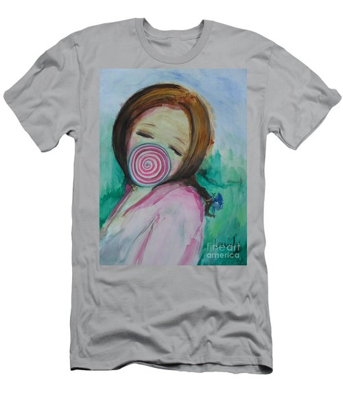 Men's T-Shirt (Athletic Fit) featuring the painting You're Beautiful by Laurie Lundquist