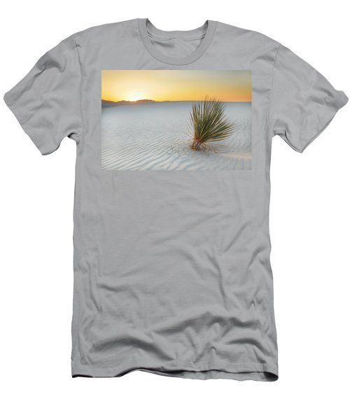 Yucca Plant At White Sands Men's T-Shirt (Athletic Fit)