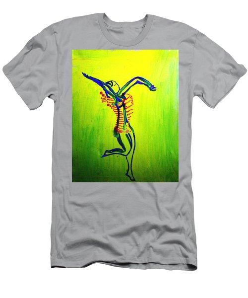 Dinka Dance - South Sudan Men's T-Shirt (Athletic Fit)