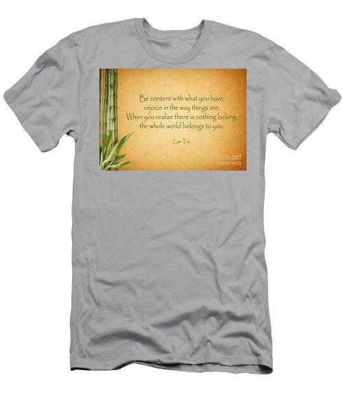 114- Lao Tzu Men's T-Shirt (Athletic Fit)
