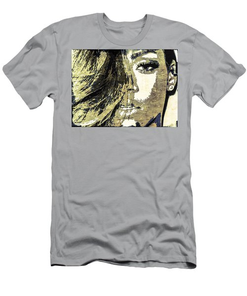 Rihanna Men's T-Shirt (Slim Fit) by Svelby Art