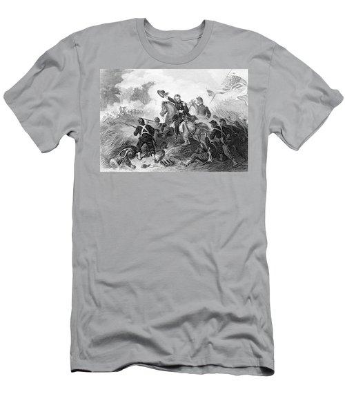 1860s August 1861 Battle Of Wilsons Men's T-Shirt (Athletic Fit)