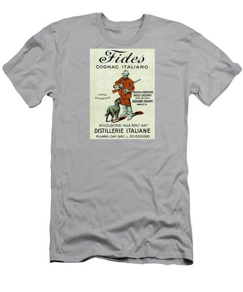 1905 Fides Italian Cognac Men's T-Shirt (Athletic Fit)
