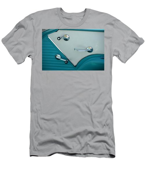 Men's T-Shirt (Slim Fit) featuring the photograph 1950's Chevy Interior by Dean Ferreira