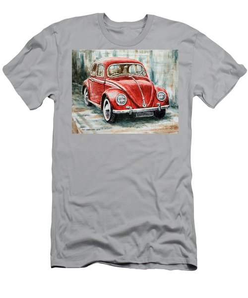 1960 Volkswagen Beetle 2 Men's T-Shirt (Athletic Fit)