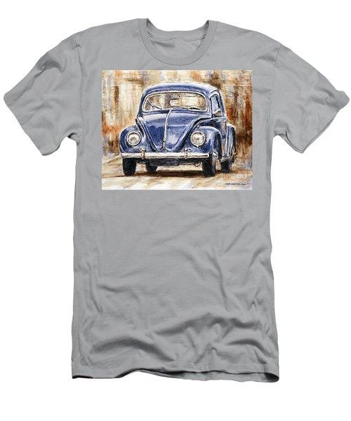 1960 Volkswagen Beetle Men's T-Shirt (Athletic Fit)