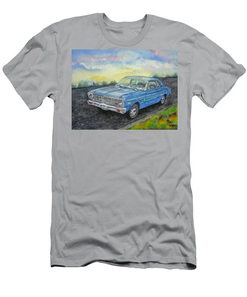 1967 Ford Falcon Futura Men's T-Shirt (Slim Fit) by Anna Ruzsan