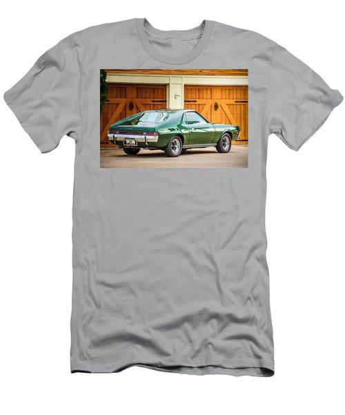 Men's T-Shirt (Athletic Fit) featuring the photograph 1969 Amc Amx -0100c by Jill Reger