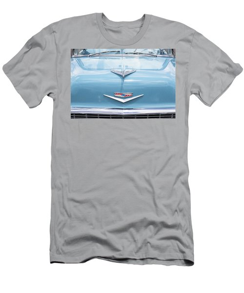 1956 Chevrolet Hood Ornament Men's T-Shirt (Athletic Fit)