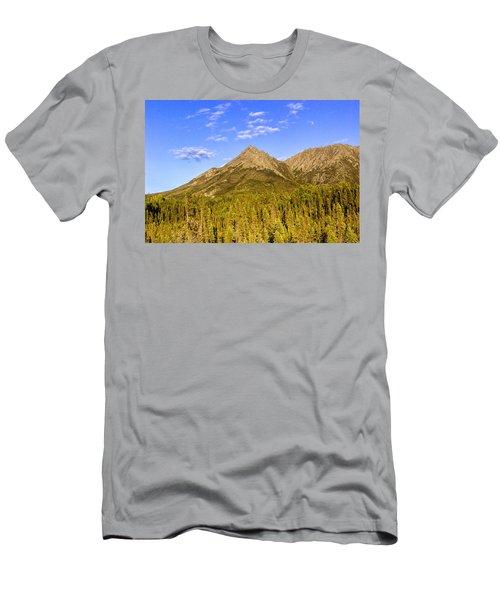 Alaska Mountains Men's T-Shirt (Athletic Fit)