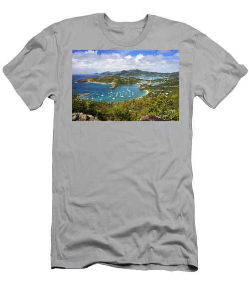 Men's T-Shirt (Athletic Fit) featuring the photograph Antigua by Brian Jannsen