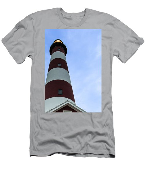 Assateague Lighthouse At Dawn Men's T-Shirt (Athletic Fit)