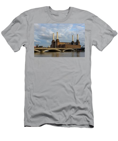 Battersea Power Station Men's T-Shirt (Athletic Fit)
