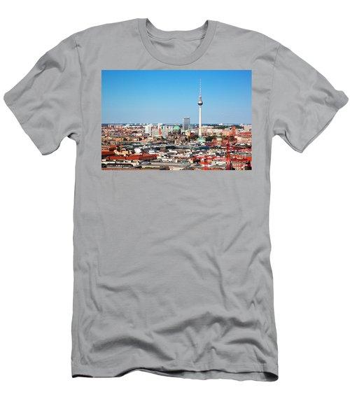 Berlin Panorama Men's T-Shirt (Athletic Fit)