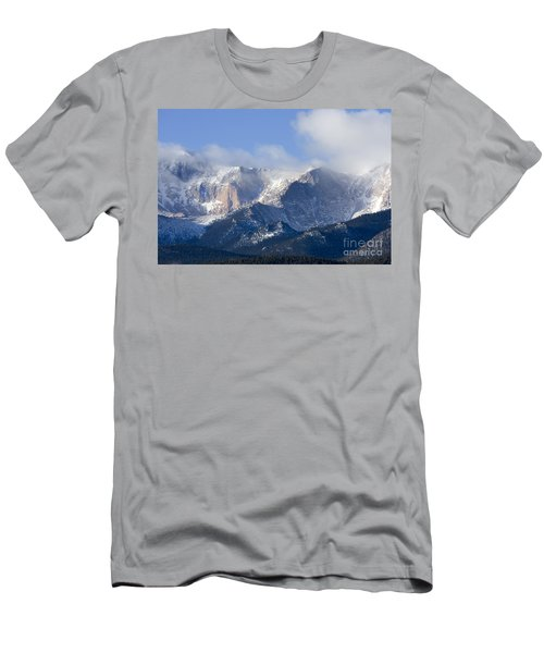 Cloudy Peak Men's T-Shirt (Athletic Fit)
