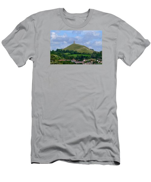 Glastonbury Tor Men's T-Shirt (Athletic Fit)