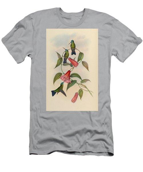 Hummingbirds Men's T-Shirt (Athletic Fit)
