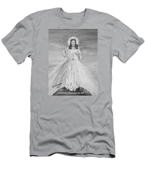 Men's T-Shirt (Slim Fit) featuring the painting L'amore by Loredana Messina
