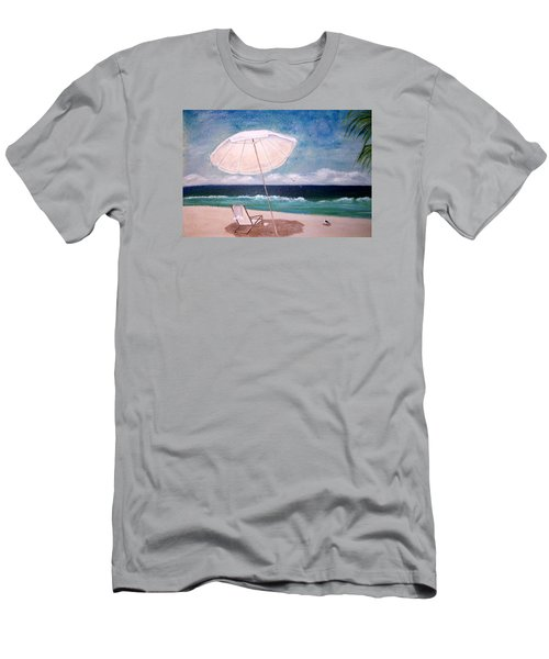 Men's T-Shirt (Slim Fit) featuring the painting Lazy Day by Jamie Frier