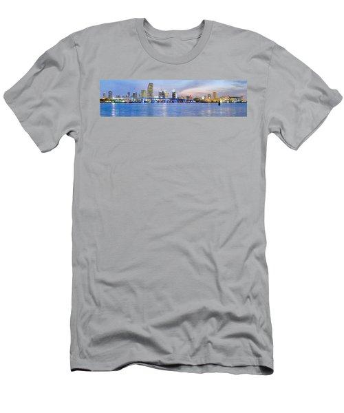 Miami 2004 Men's T-Shirt (Slim Fit) by Patrick M Lynch