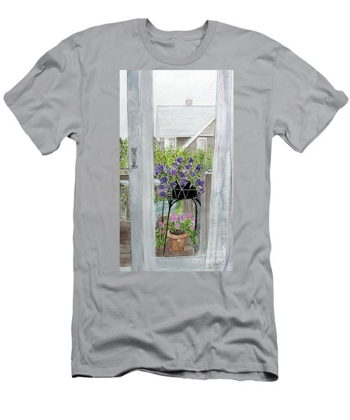 Nantucket Room View Men's T-Shirt (Athletic Fit)