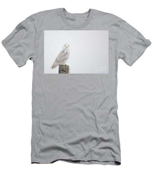 Observant Men's T-Shirt (Slim Fit) by Cheryl Baxter