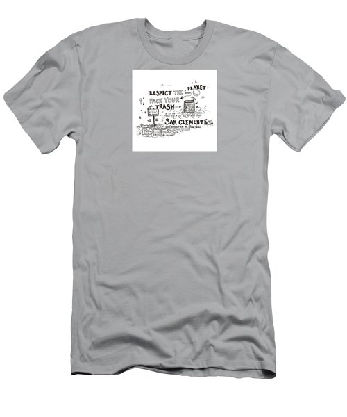 Pack Your Trash Men's T-Shirt (Athletic Fit)