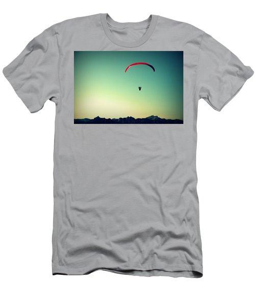 Paraglider Men's T-Shirt (Athletic Fit)