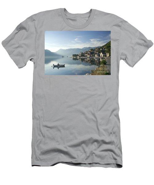 Perast Village In Montenegro Men's T-Shirt (Athletic Fit)