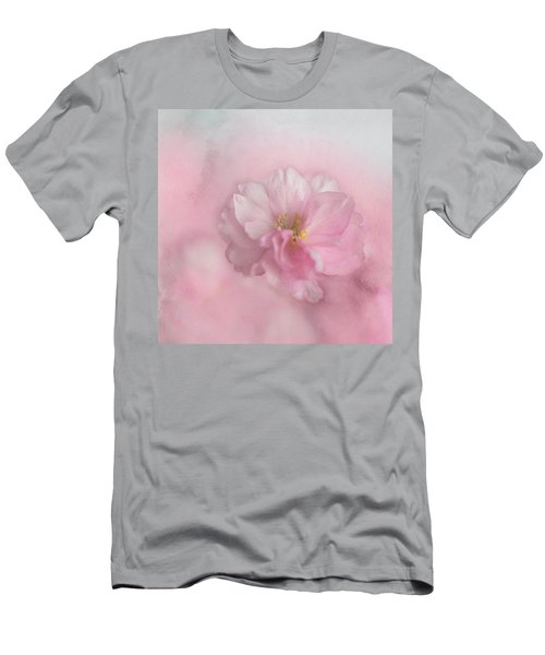 Pink Blossom Men's T-Shirt (Athletic Fit)