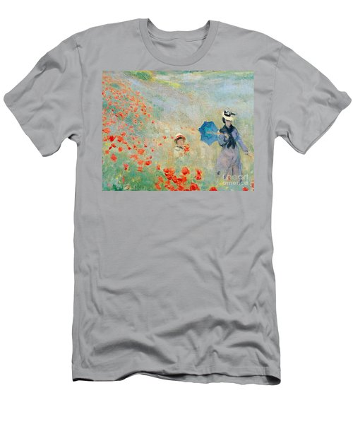 Poppies At Argenteuil Men's T-Shirt (Athletic Fit)
