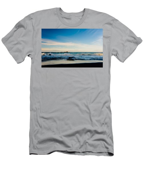 Sunlight On Beach Men's T-Shirt (Athletic Fit)