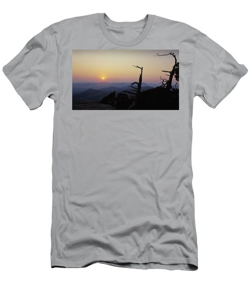Sunset From Mt Scott Men's T-Shirt (Athletic Fit)