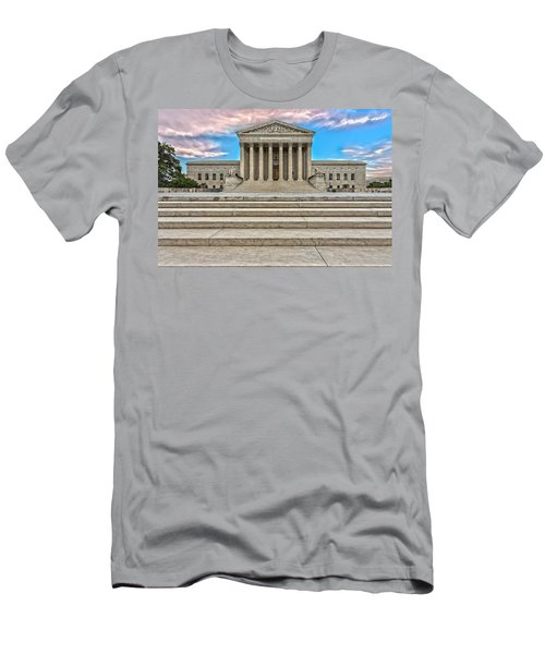 Men's T-Shirt (Slim Fit) featuring the photograph Supreme Court by Peter Lakomy