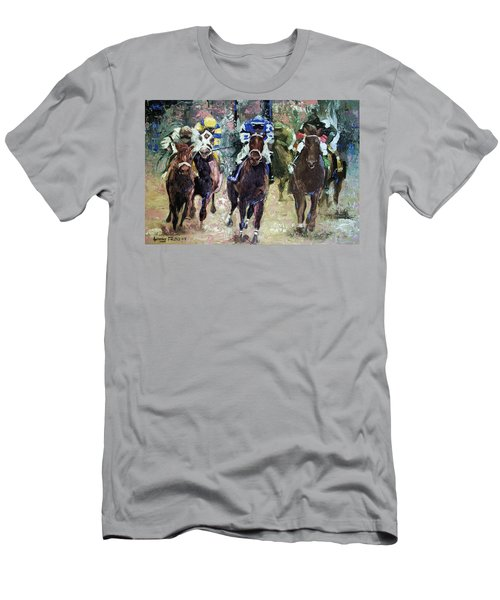 The Bets Are On Men's T-Shirt (Athletic Fit)