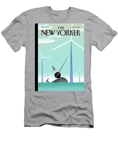 New Yorker May 10th, 2010 Men's T-Shirt (Athletic Fit)