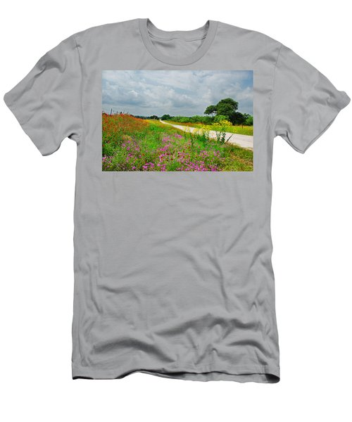 Wildflower Wonderland Men's T-Shirt (Athletic Fit)