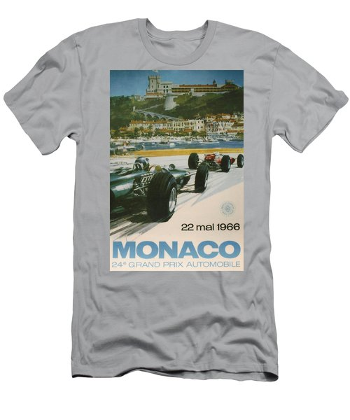 24th Monaco Grand Prix 1966 Men's T-Shirt (Athletic Fit)