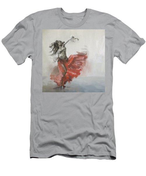 Belly Dancer 4 Men's T-Shirt (Athletic Fit)