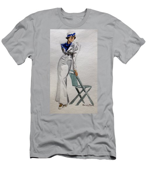 A Day At The Seashore 2 Men's T-Shirt (Athletic Fit)