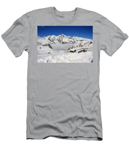 Austrian Mountains Men's T-Shirt (Athletic Fit)