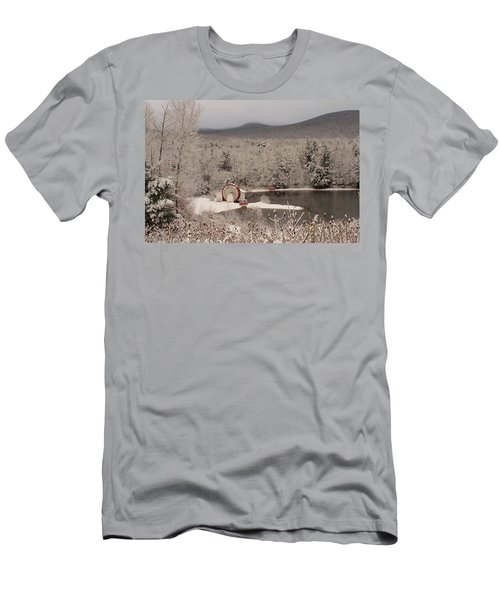 Indian Head Nh Men's T-Shirt (Athletic Fit)