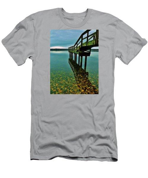 3 Mile Harbor Men's T-Shirt (Slim Fit) by John Wartman