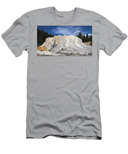 Orange Spring Mound Mammoth Hot Springs Yellowstone National Park Men's T-Shirt (Athletic Fit)